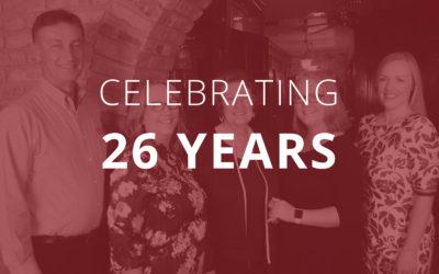 26 Year Anniversary Charity Dinner