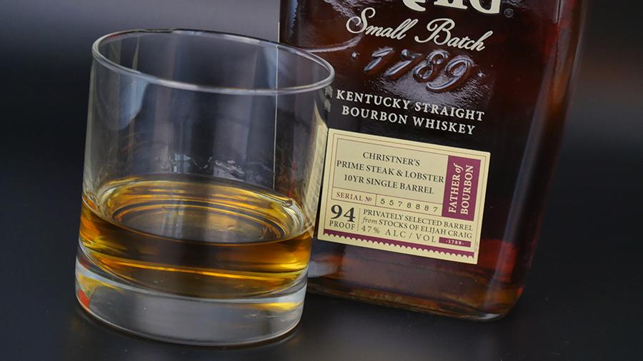 Whiskey near bottles