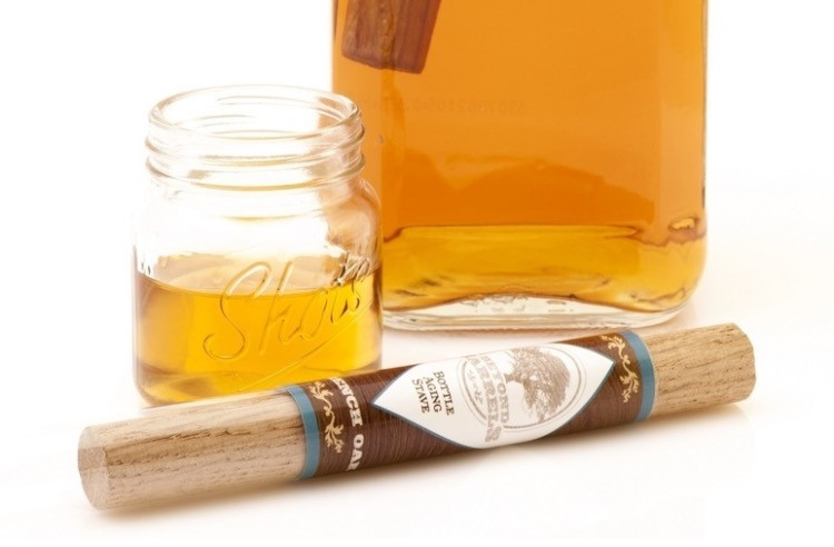 Whiskey aging stave by The Vintage Gentlemen