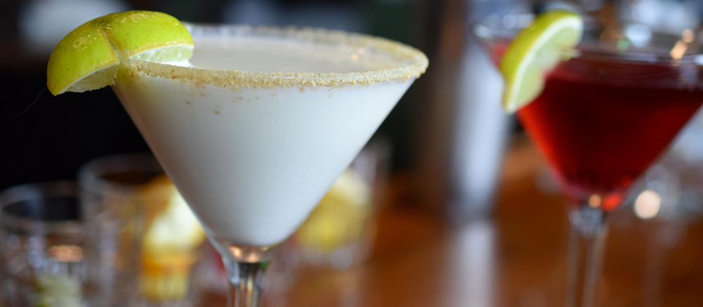 Key lime martinin from christners